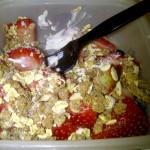 Greek Yogurt with Meusli and Fruit