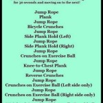 Abs and Cardio Workout (30 minutes)