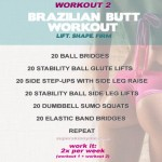 Brazilian Butt #Workout