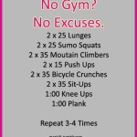 No Excuse Full Body #Workout