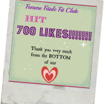 We Hit 700 #LIKES on Facebook