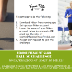Femme Fitale Fit Club Fall Fifty Challenge