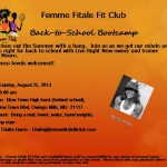 Femme Fitale Fit Club Teams Up With LiveRightFitness