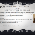 Femme Fitale Fit Club Teams Up With Velvet & Steel, LLC