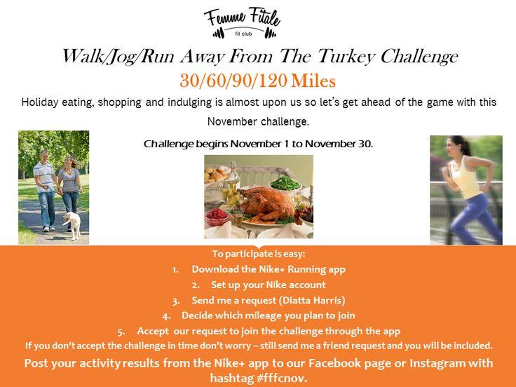 November 2013 Mileage Challenge
