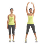 Noon Fitness Flash Challenge – Do jumping jacks