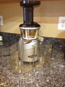 My Omega VRT350 Juicer and its resting place