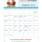 March Madness Challenge Your Diet Calendar