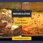 Meal Mondays:  Tomato Basil Pasta