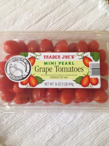 Mini grape tomatoes