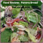Meal Mondays:  Panera Bread Greek Salad with Shrimp Review
