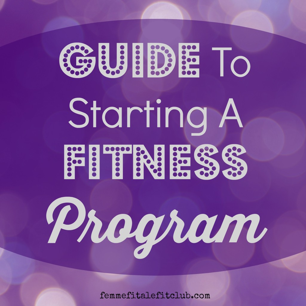 Guide to starting a fitness program