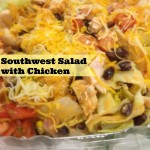 Meal Mondays:  Flying Avocado Cafe Southwestern Wedge Salad with Chicken Review