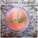 Meal Mondays:  Ruby Sipper Juice Recipe