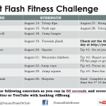 FFFC August Beat The Heat Fitness Challenges 2014