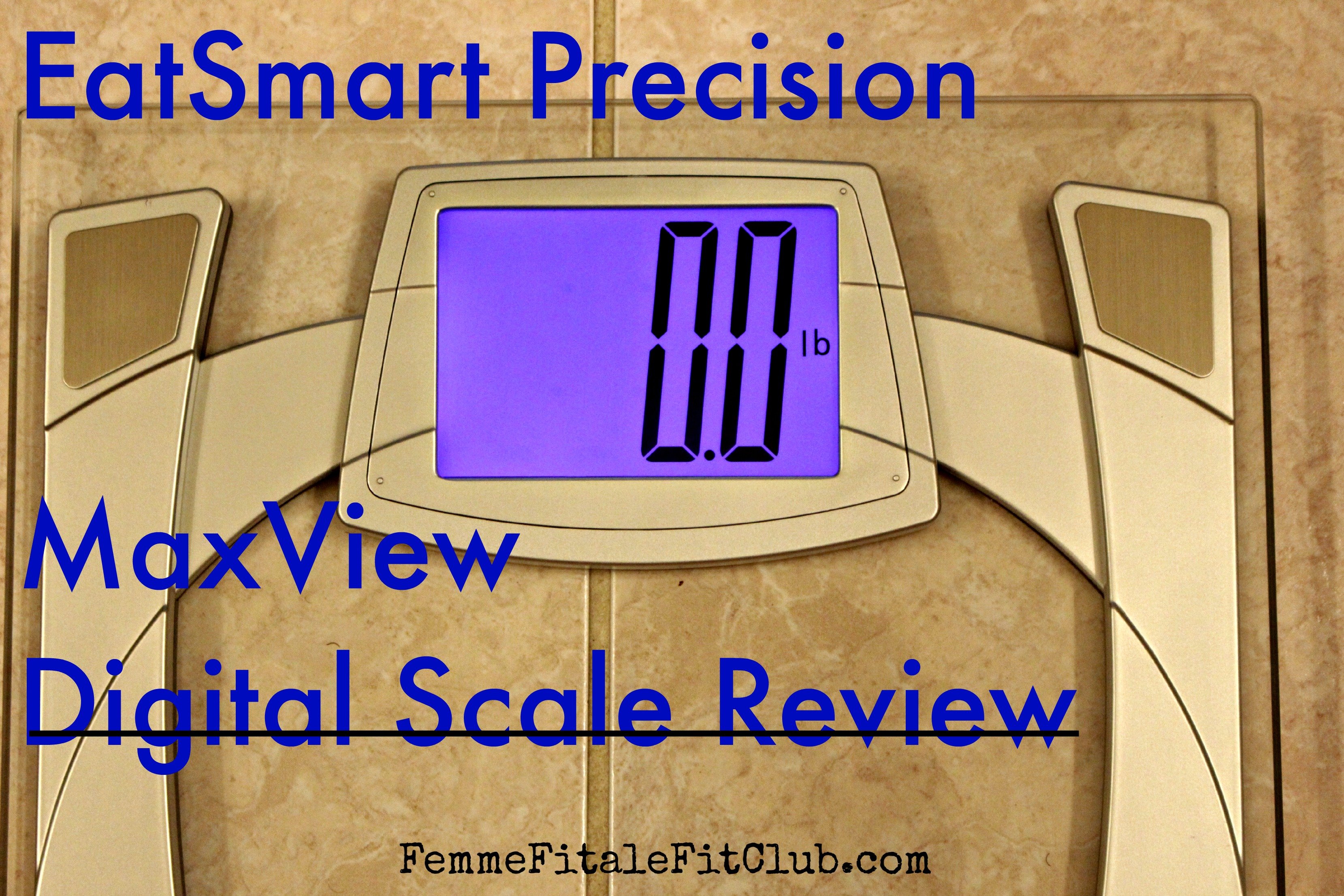 EatSmart Precision MaxView Digital Scale