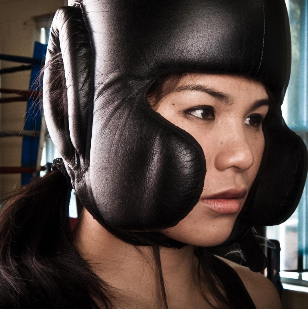 Female boxing sensation Dara Shen