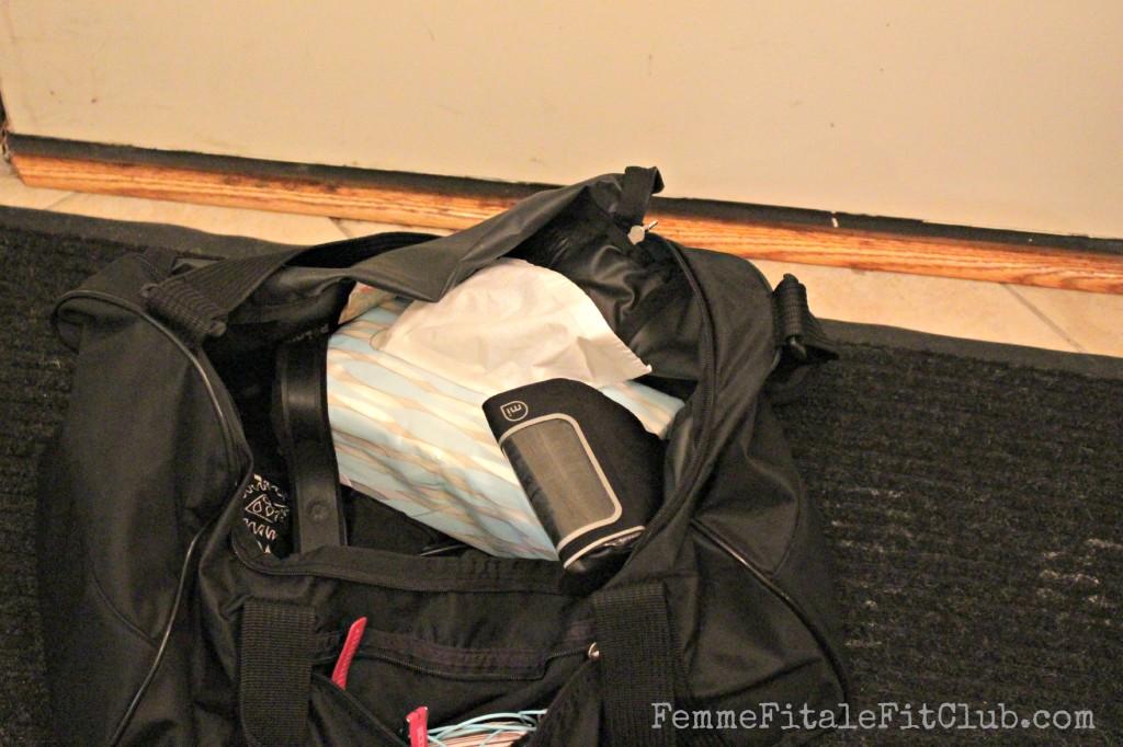 Puffs in my gym bag