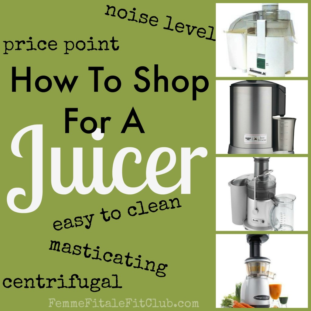 How To Shop For a Juicer