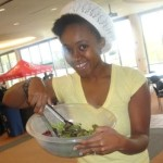 In The Gym with Raw Food Chef Nakia of Nakia's Peace of Life