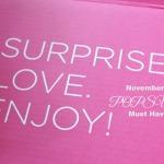 November  2014 POPSUGAR Must Have Box Unboxing