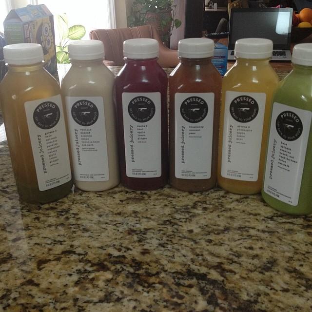 Pressed Juicery juice assortment  #pressedjuicery #juicing