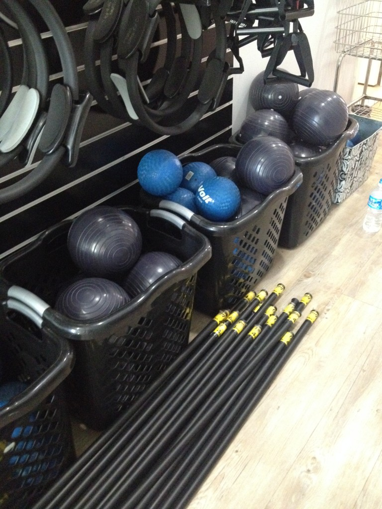Barre class equipment #barre #barreclass