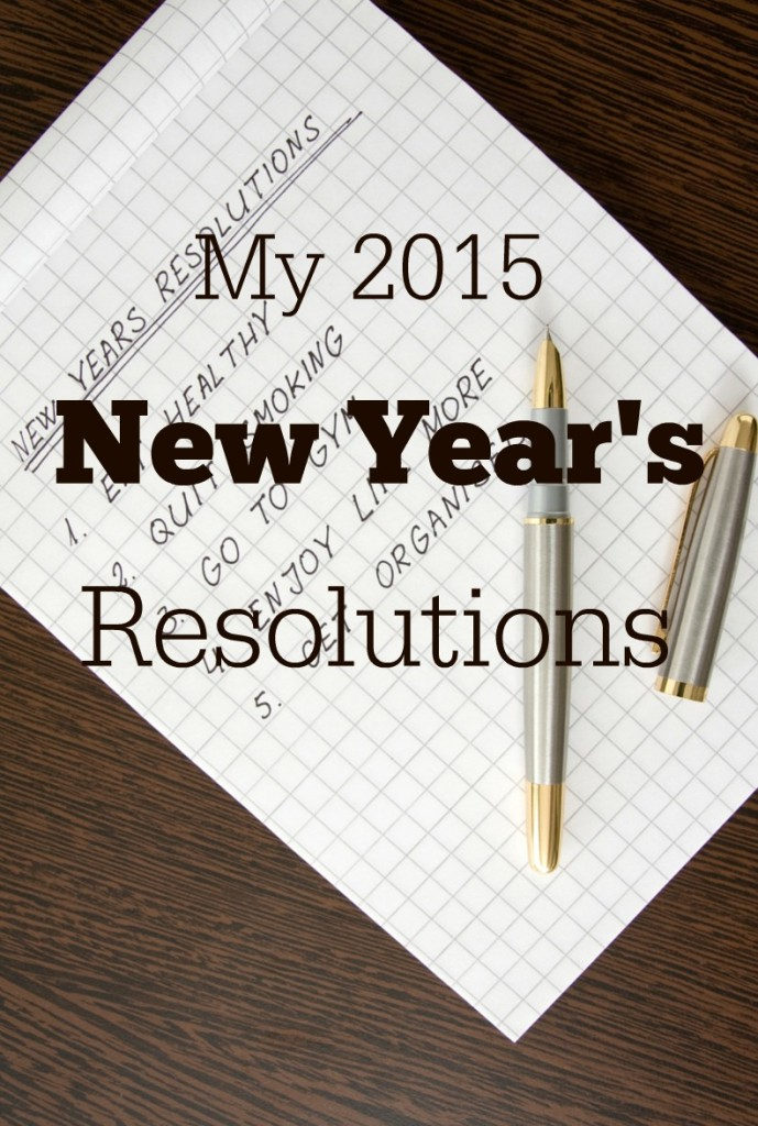 My New Years Resolutions 2015 #resolutions