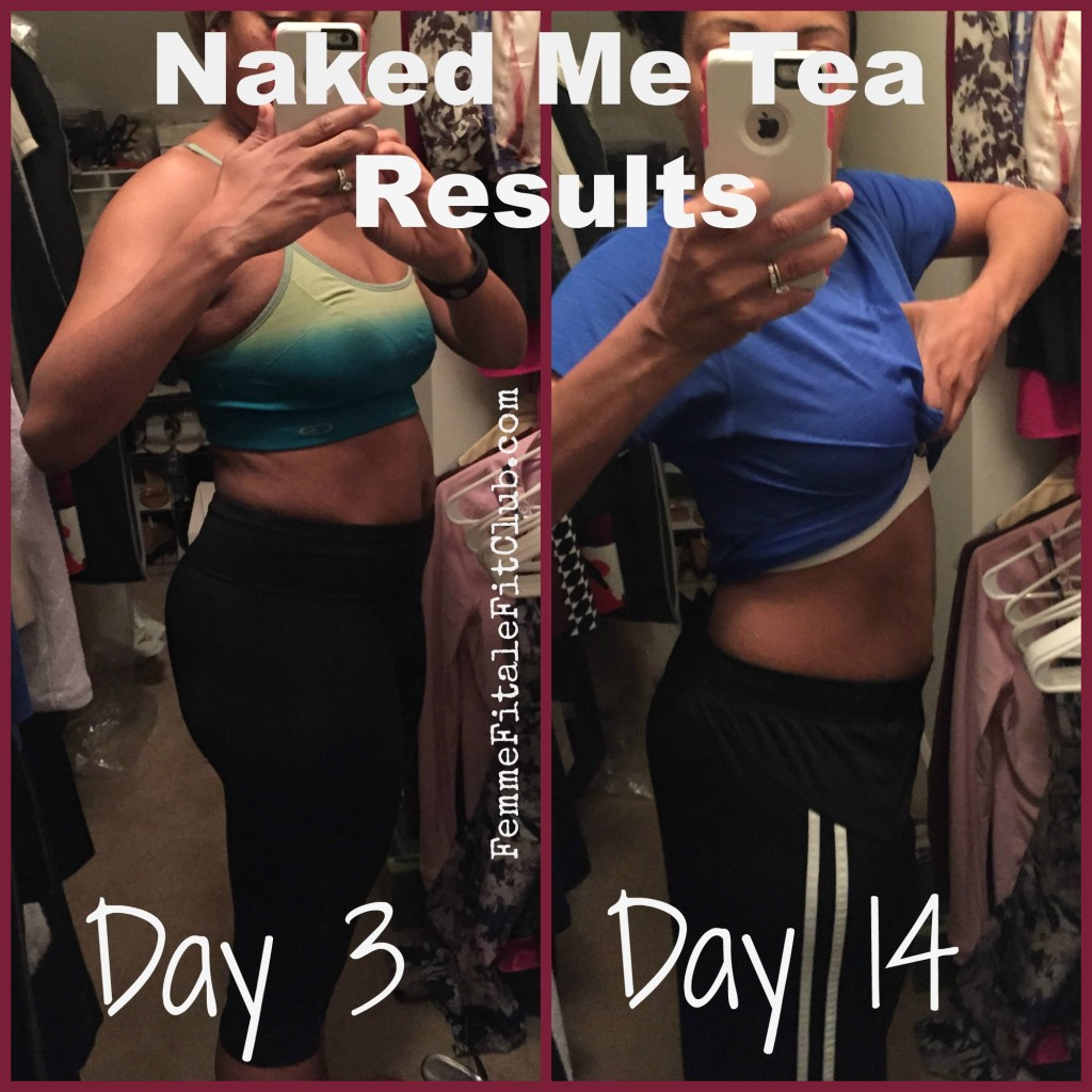 Naked Me Tea Results Before and After photo #nmt #detoxtea #teatox #nakedmetea