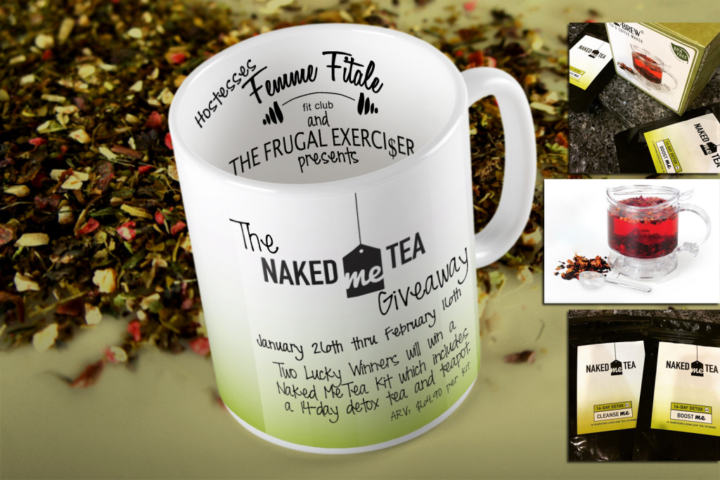 Naked Me Tea Giveaway #giveaway