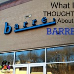 What I Thought About Barre