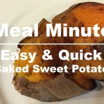 Meal Mondays:  Easy Baked Sweet Potato