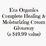 Era Organics Giveaway