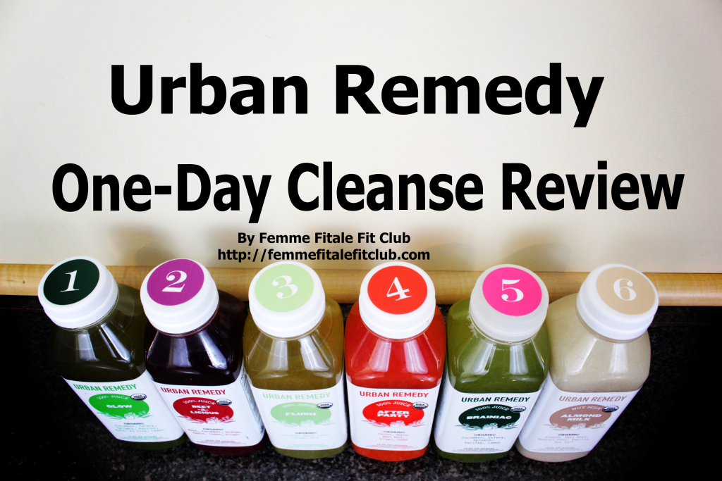 Urban Remedy One-Day Cleanse Review