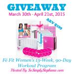 Fe Fit Workout Program Giveaway Announcement