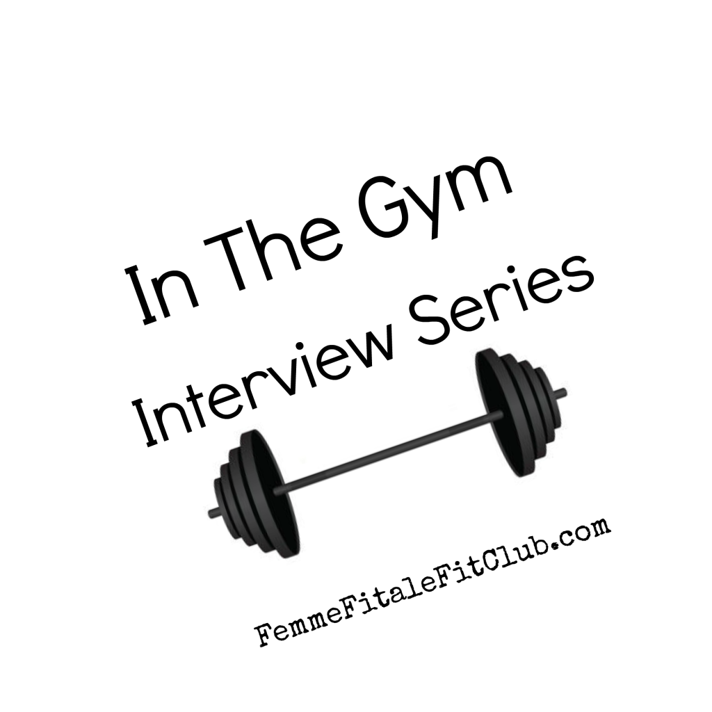 In The Gym Interview Series Stamp