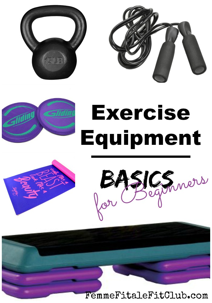 Exercise Equipment Basics for Beginners