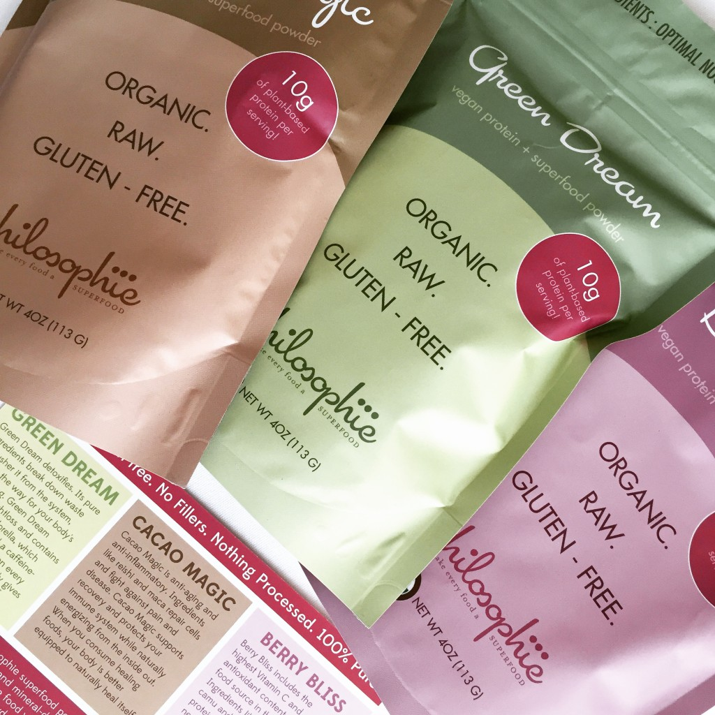 Philosophie Smoothie powders