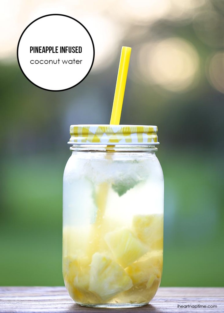 Pineapple-infused-coconut-water