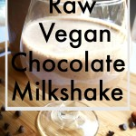 Meal Mondays:  Raw Vegan Chocolate Milkshake