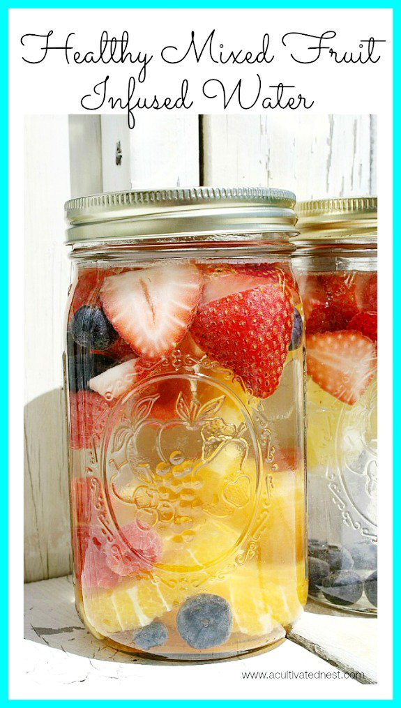 healthy-mixed-fruit-infused-water