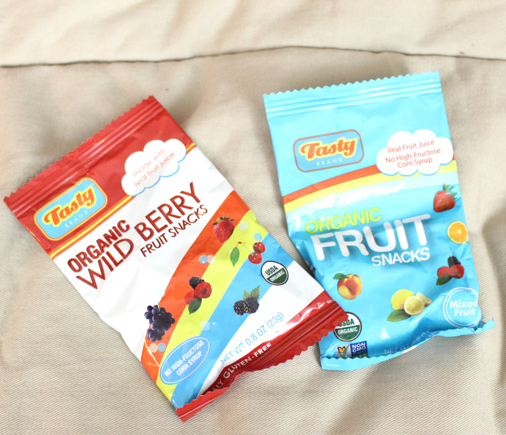 Tasty Brand Organic Fruit Snacks