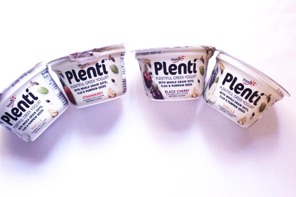 Plenti Greek Yogurt flavors