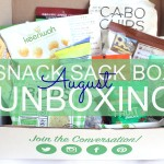 August Snack Sack Box Unboxing