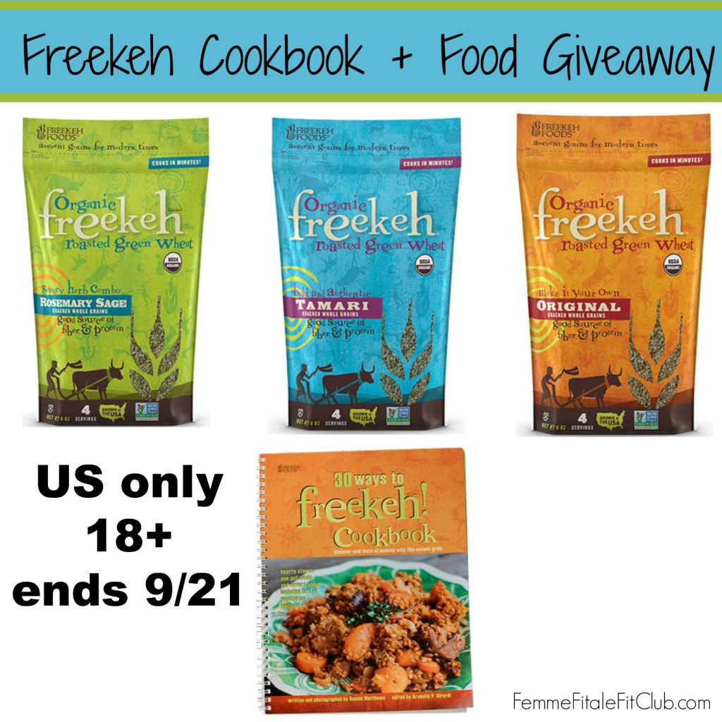 Freekeh Cookbook and Food Giveaway