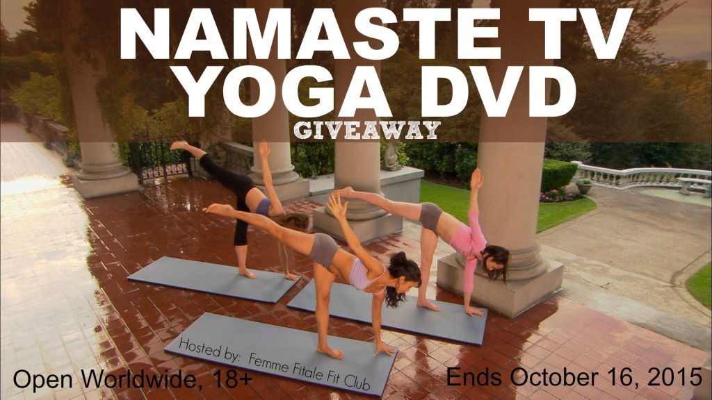 Namaste TV Yoga DVD giveaway
