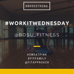 Work It Wednesday #BOSUStrong