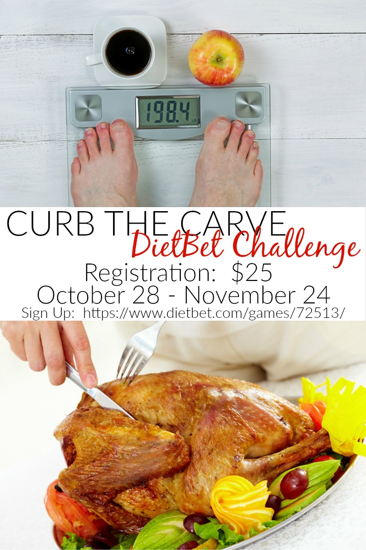 Curb The Carve DietBet Challenge