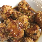 Meal Monday:  Saucy Asian Turkey Meatballs