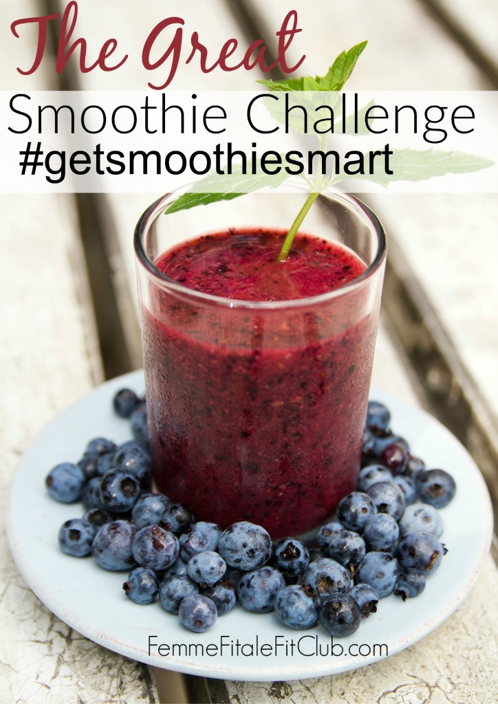 The Great Smoothie Challenge November 2015